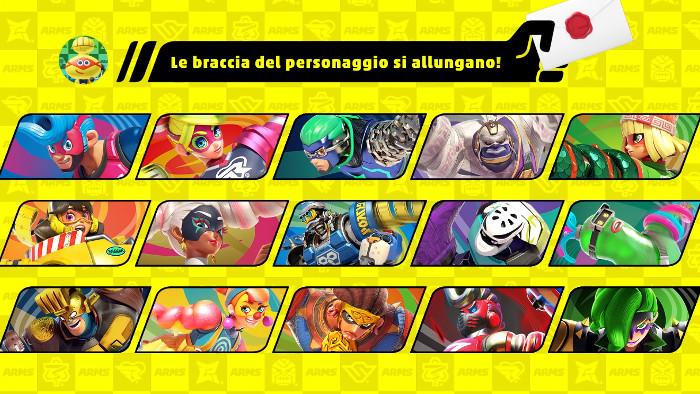 Personaggio di ARMS in Super Smash Bros. Ultimate