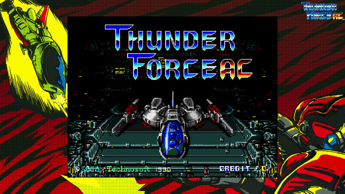 Sega Ages Thunder Force AC Arriva in Occidente il 28 Maggio
