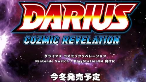 Darius Cozmic Revelation Nintendo Switch