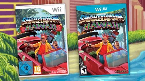 Shakedown: Hawaii Nintendo Wii U