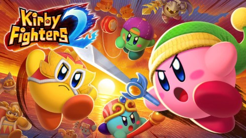 Kirby Fighters 2 Nintendo Switch