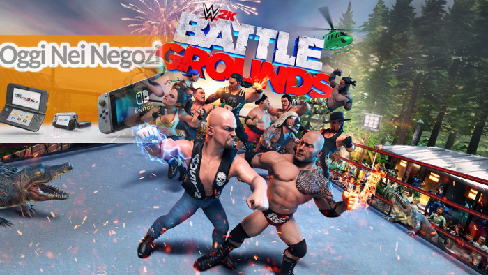 Oggi nei Negozi: WWE 2K Battlegrounds