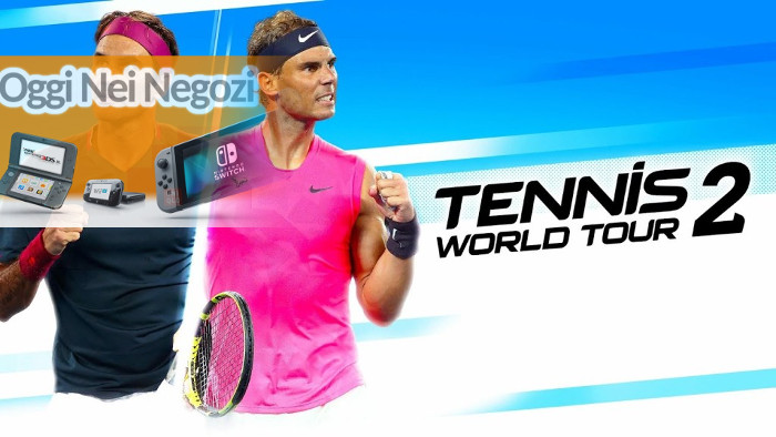 Oggi nei Negozi: Tennis World Tour 2