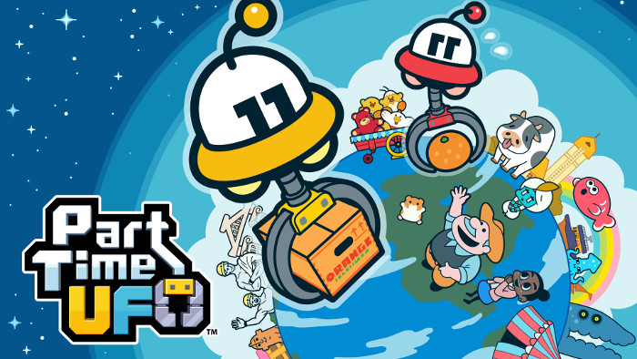 Part Time UFO È Arrivato su Nintendo Switch