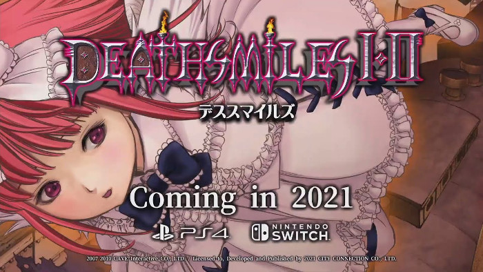 Deathsmiles I & II Arriva su Nintendo Switch