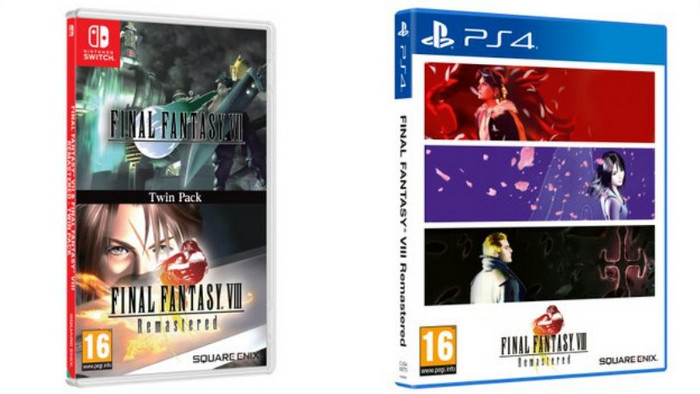 FFVII & FFVIII Twin Pack In Arrivo in Occidente