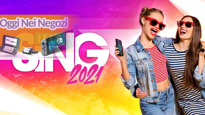 Oggi nei Negozi: Let's Sing 2021