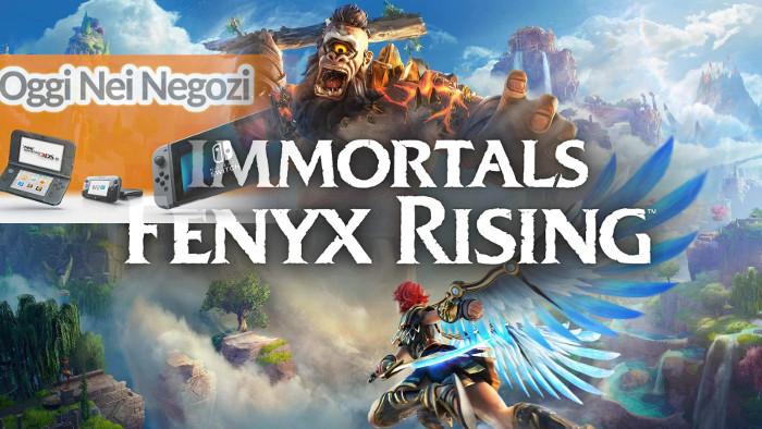 Oggi nei Negozi: Immortals Fenyx Rising