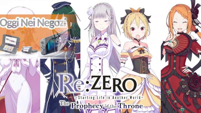 Oggi nei Negozi: Re:Zero: The Prophecy of the Throne