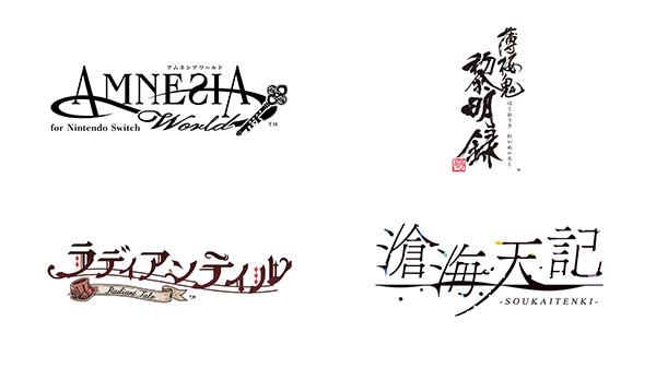 Amnesia World, Hakuoki Shinkai Reimeiroku, Radiant Tale e Soukaitenki Arriveranno su Nintendo Switch