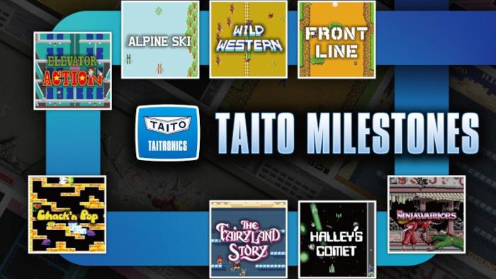 Taito Milestones Arriverà su Nintendo Switch nel 2022