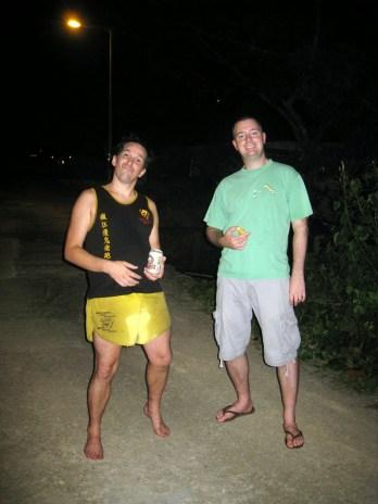 Drunken arse Eunuch and some bloke