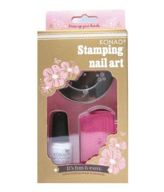 New Salon Express Nail Art Kit Sting Set Tv Hot S Image Plate Ster