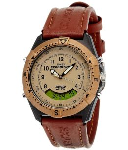 Amazon- Buy Timex Expedition Analog-Digital Beige Dial Unisex Watch - MF13 At Rs 1,880 Only
