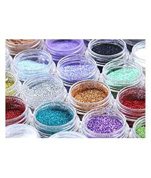 2 Added Jayhari Colorful Fluorescent Piece Nail Art Decorations Glitters