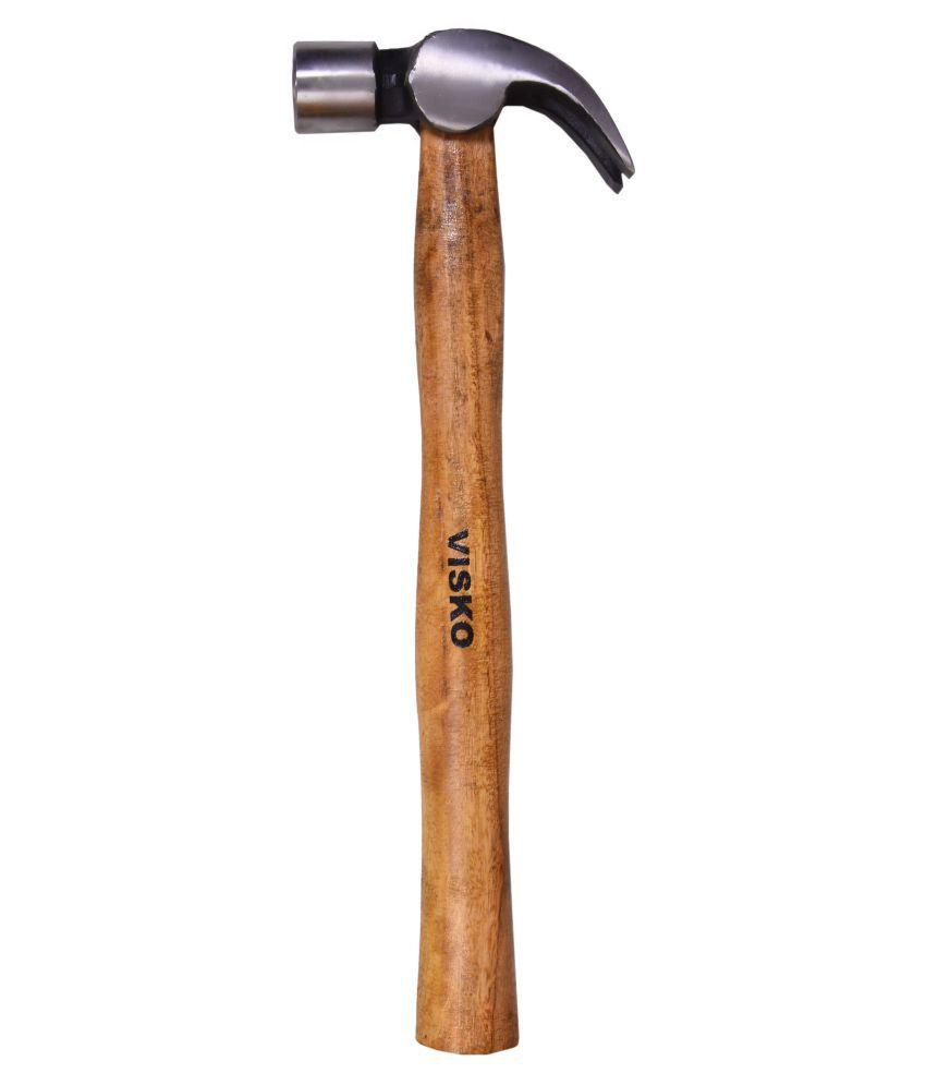 Visko 710 1 lb (16 oz) Claw Hammer With Wooden Handle