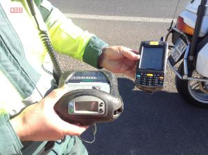 Checking Your Details at the Roadside