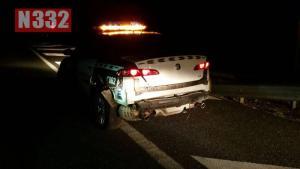 Drunk Driver Crashes into Patrol Car