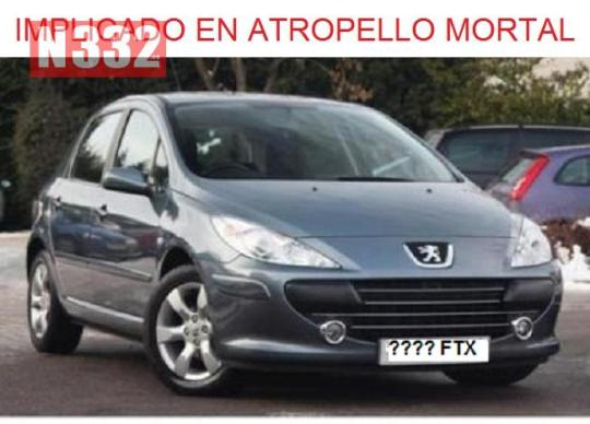 20150419 - Guardia Civil Looking for Hit and Run Vehicle