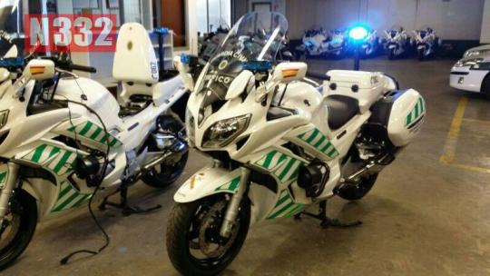 20140409 - NEW FASTER MOTORBIKES FOR THE GUARDIA CIVIL 1
