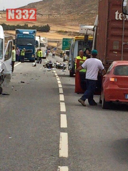 20150529 - Guardia Civil Officer Killed in Crash  (3)