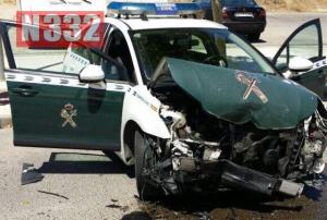 Guardia Civil Officers Injured in Stolen Car Collision