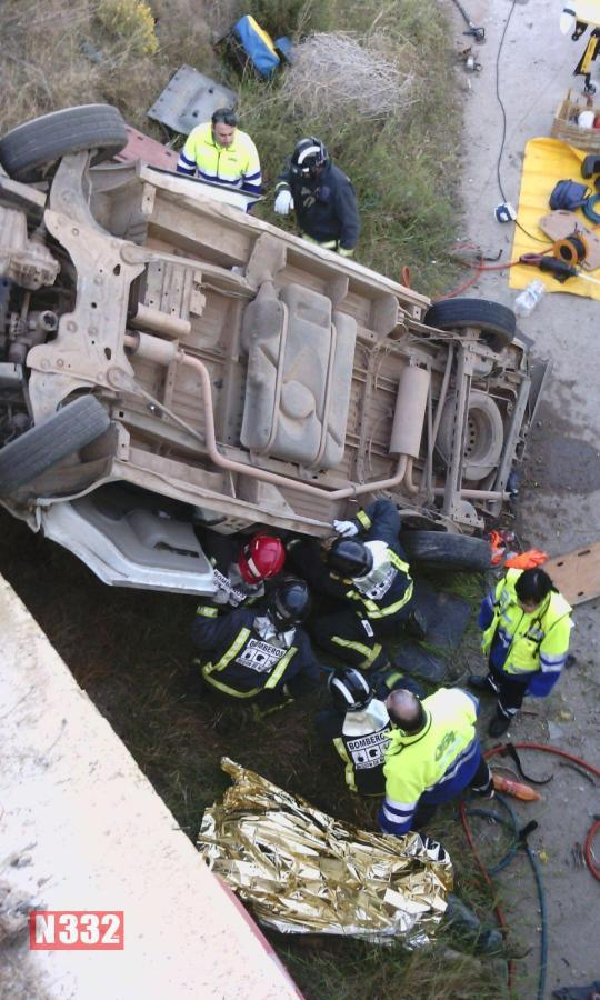 Accidente furgoneta  RM 11 1