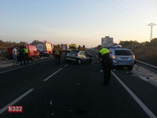 Fatal Crash on the N332 (2)