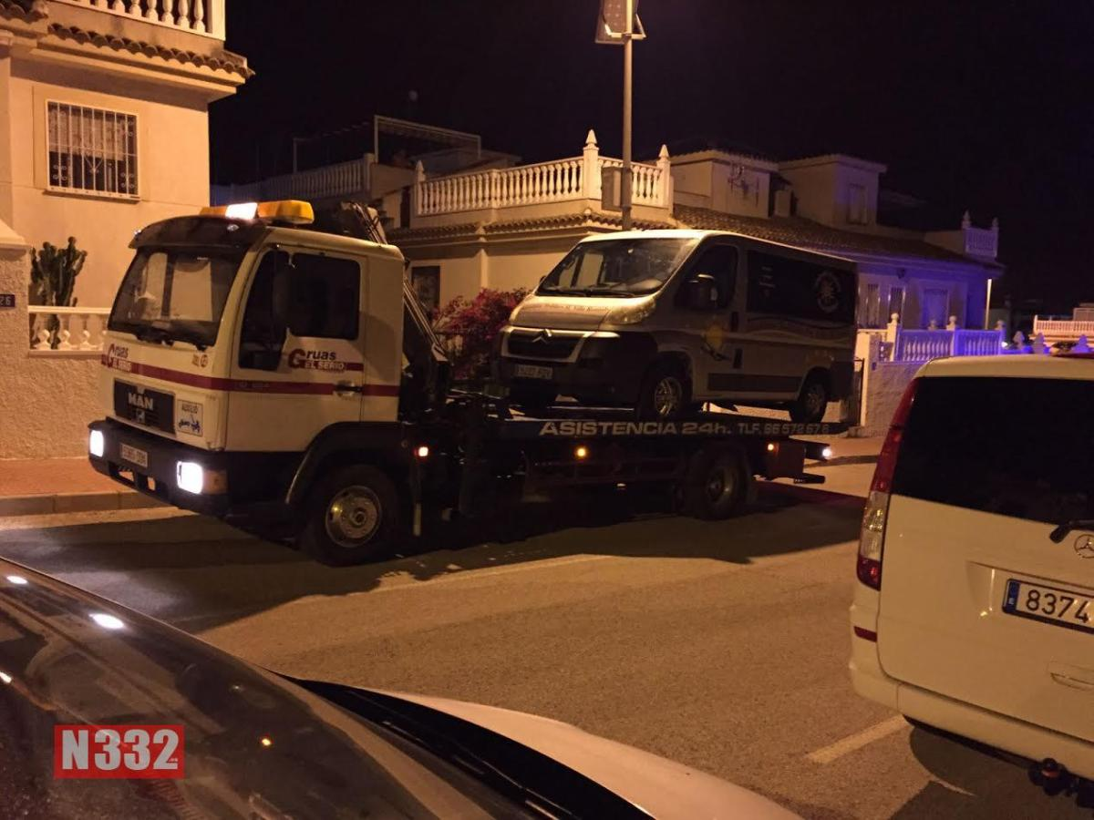 Rojales Pirate Taxi Seized