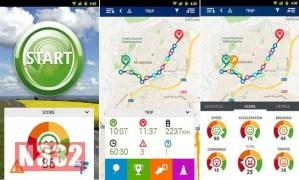 Mobile App Assesses Driver Performance