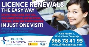 FREE Driving Licence Renewal Reminder Service