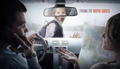 Don´t use your mobile at the wheel
