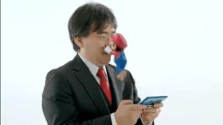 Mario ataca a Iwata