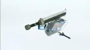 Espada y escudo de Zelda saliendo de 3DS