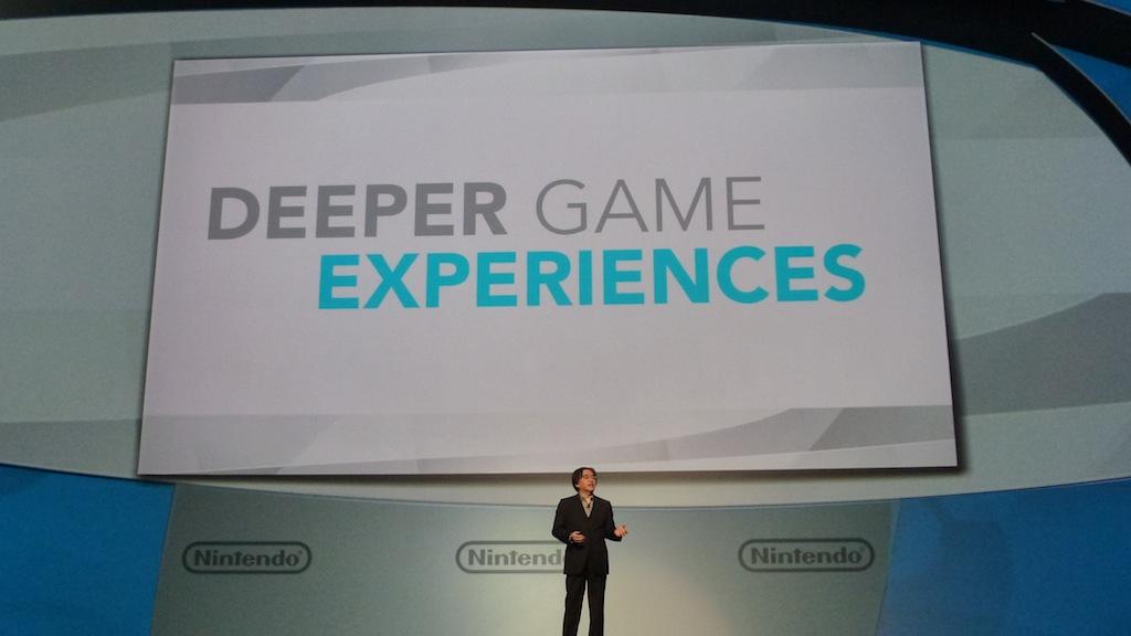 Wii U iba a proporcionar experiencias de juego más profundas