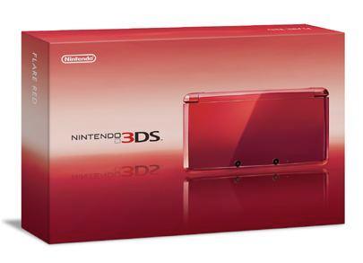 Caja Nintendo 3DS Roja