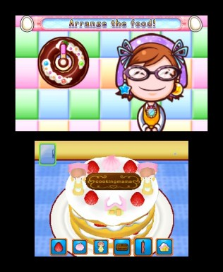 Cooking Mama 4 Strawberry Shortcake