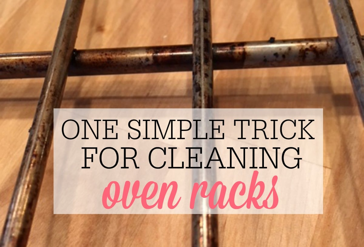 simple trick for cleaning oven racks