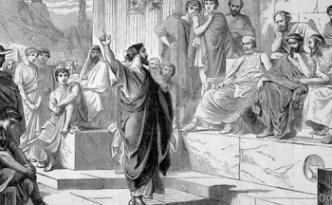 El Ágora, centro del debate político en la Antigua Grecia