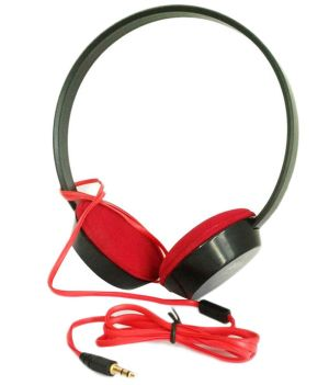 Buy Ubon UB215 Over Ear Wired Headphone Without Mic Red Online at Best Price in India  Snapdeal