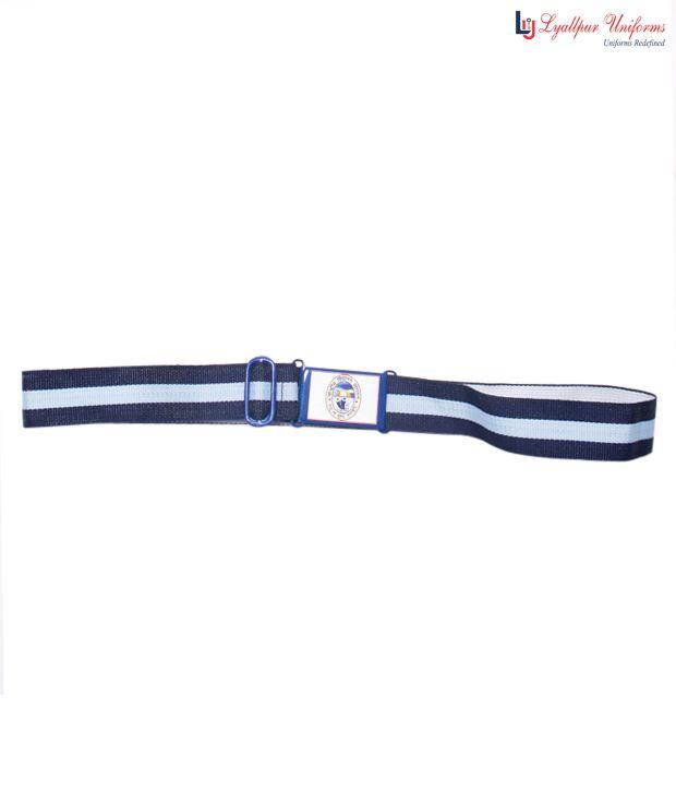 Kendriya Vidyalaya Sangathan Uniform Blue Belt For Kids Buy