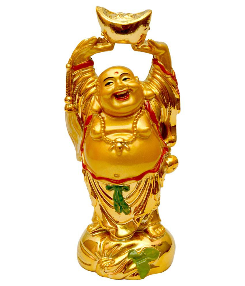 Vashoppee Resin Laughing Buddha Buy Vashoppee Resin Laughing Buddha At Best Price In India On Snapdeal