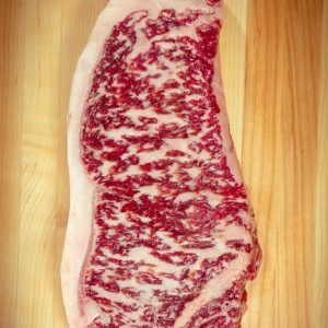 Extreme Marbling Wagyu Beef NY Strip Steak