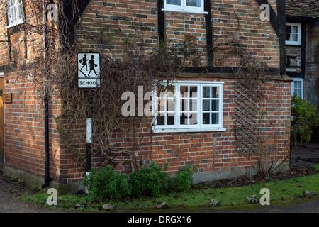Traditional Timber Framed Red Brick Built Turville Village