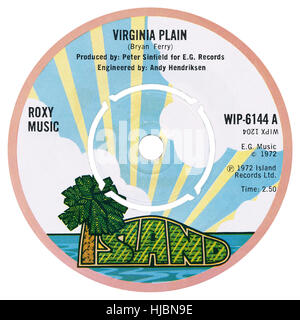 Island Record Label On A Vinyl LP Record Stock Photo ...