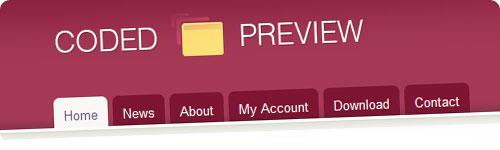 Coded Preview, presentación profesional de diseños web