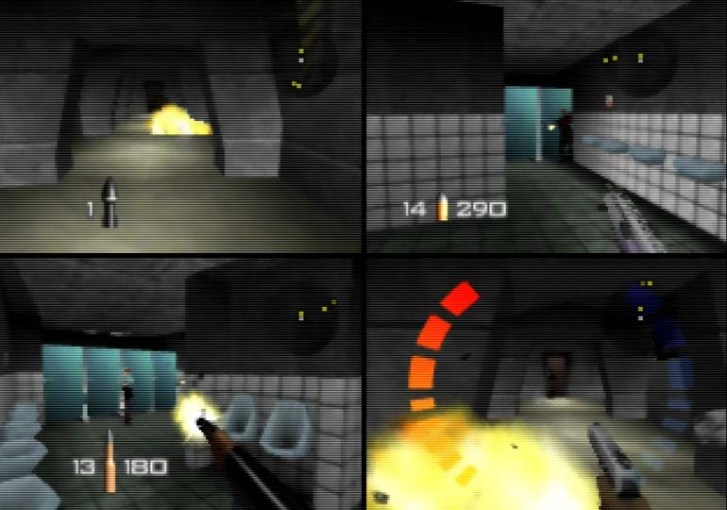 Best N64 multiplayer games   top 25 titles that hold up today   N64     GoldenEye 007 Facility deathmatch   one of the best N64 multiplayer games
