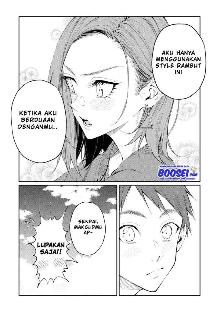 Hair Pulled Back Over One Ear Chapter 00