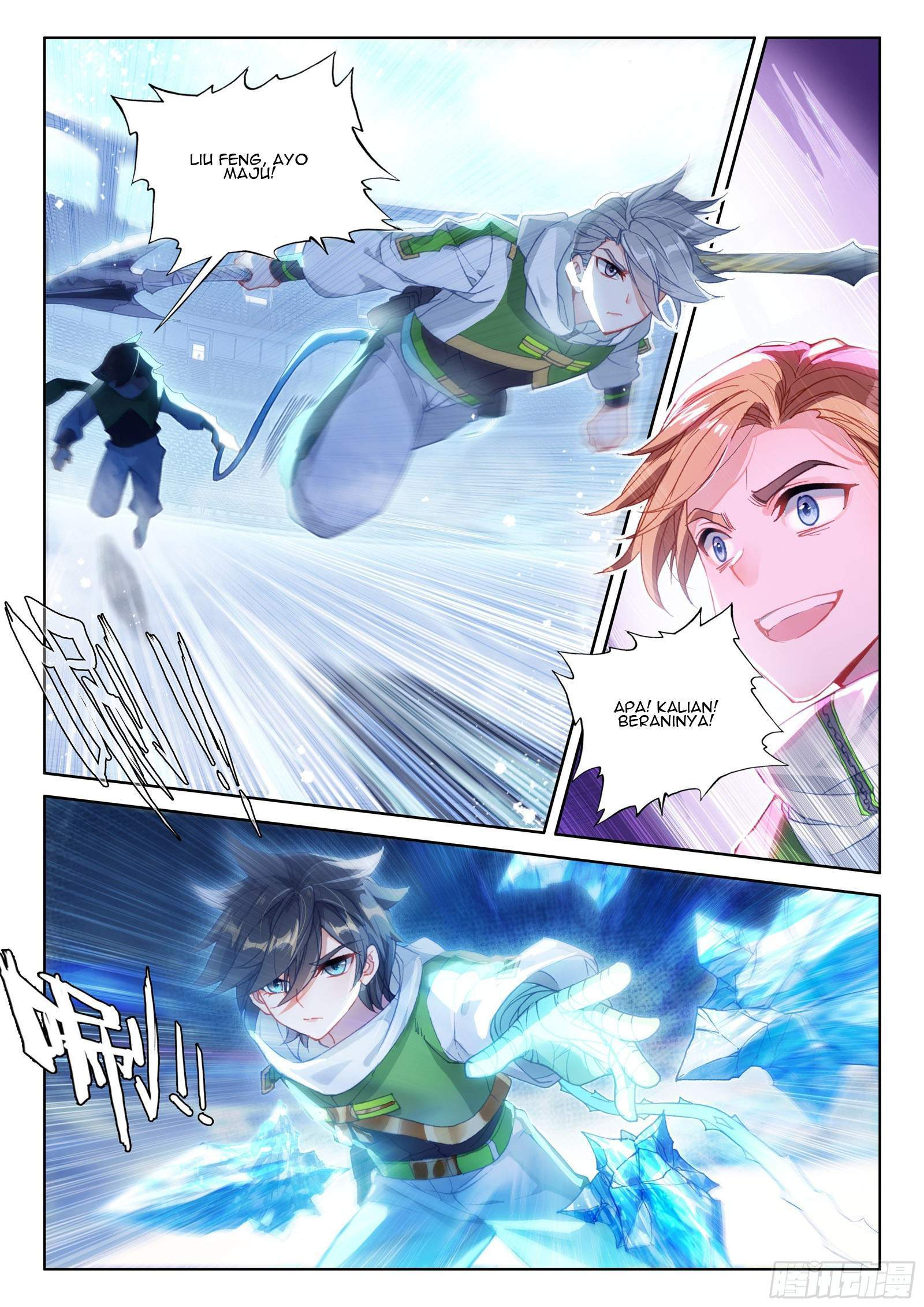 Soul Land IV – The Ultimate Combats Chapter 167
