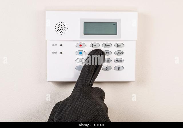 Security Alarm Voice Warning